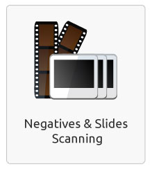 Negative and slide scanning